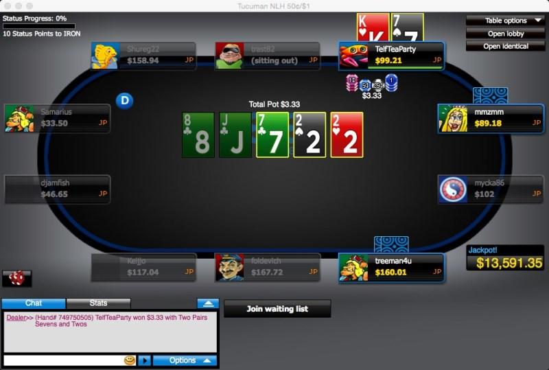 скачать покер онлайн 888 бесплатно