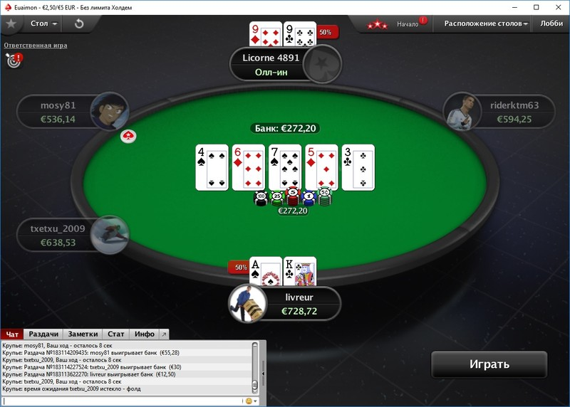 Pokerstars обои игры